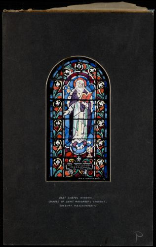East chapel window, Chapel of Saint Margaret's Convent, Roxbury, Massachusetts