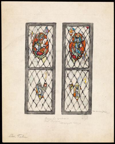 Design for window in art building, Mt. Holyoke College