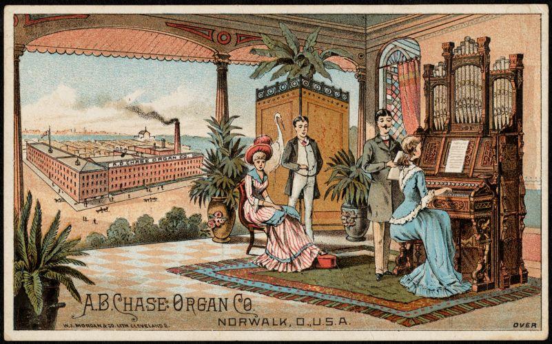 A. B. Chase Organ Co., Norwalk, U. S. A.