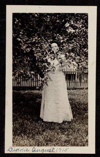 Diddie, August 1915