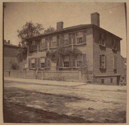 Roxbury, Seaver house, Roxbury Street.