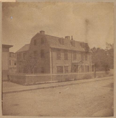 Roxbury, Mears house, Guild Street.