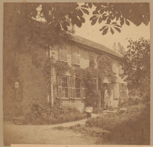 Roxbury, Craft house, Tremont Street, 1709