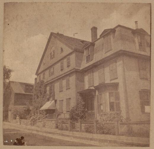 Roxbury, old Norfolk house, Lambert Street, 1781.