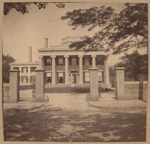 Roxbury, Kittredge House, Highland Street on site of Roxbury Fort in 1774, 1830.