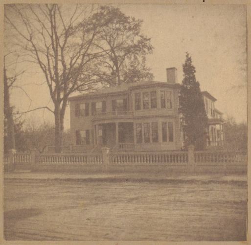 West Roxbury, Theodore Parker's home, built about 1800.