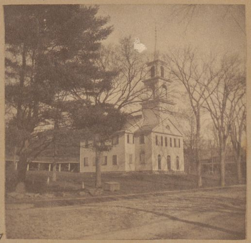 West Roxbury, Second Parish Church where Theodore Parker preached, 1773.