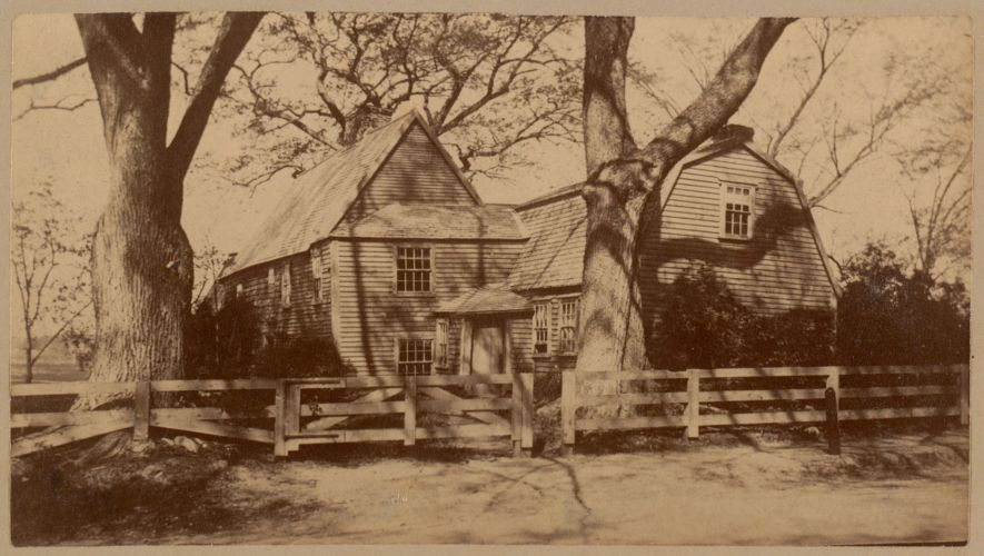 Fairbanks House, Dedham, 1636