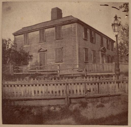 Dorchester, Clap House, 1767