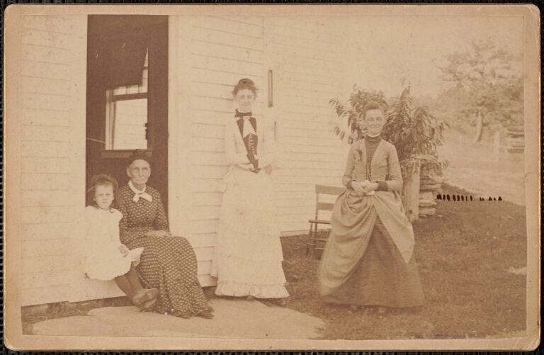 Amelia Dame, Elizabeth Morse Swain, Caroline Swain, Caroline Swain Talbot