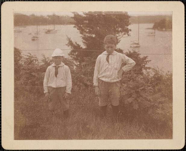 Cushing Toppan, Charlie F. Toppan, Quissett 1894