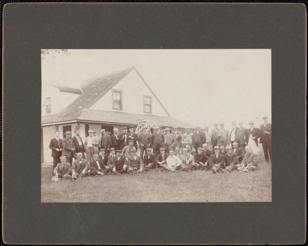 Dalton Club, annual outing, June 27, 1907, Ipswich Bluffs