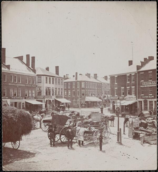 Market Sq. 1882