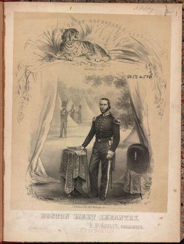Boston light infantry. O. D. Ashley, commander.