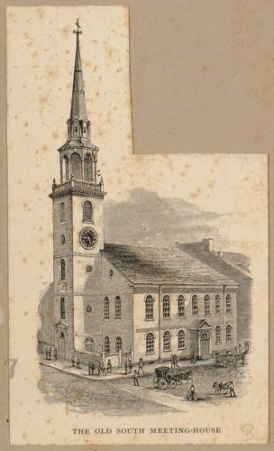 The Old South Meeting-House
