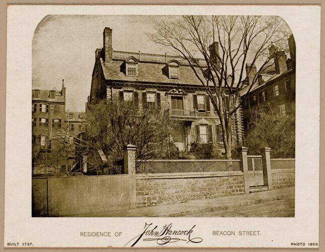 Residence of John Hancock