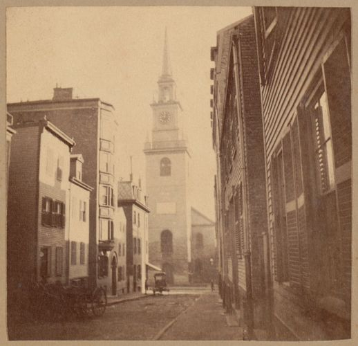 Boston, Christ Church, Salem Street