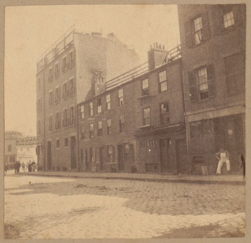 Boston, Tremere house, North Street. One of the few left standing after the fire of 1676.
