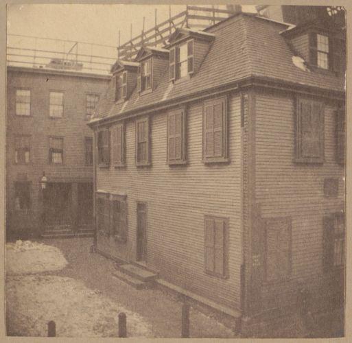 Boston, Oliver Everett house, Clarke Street