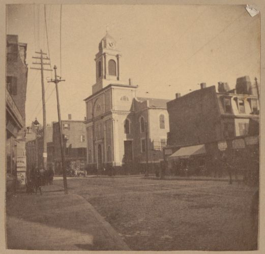 Boston, New North Church, Hanover St., 1804.