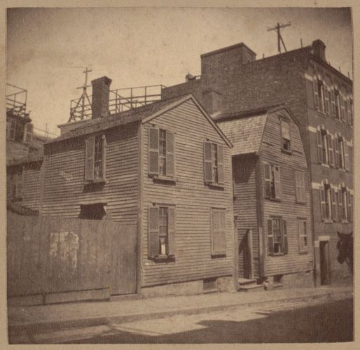 Boston, old houses, Henchman Street