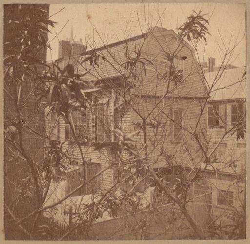 Boston, Clough House, Vernon Place, 1698