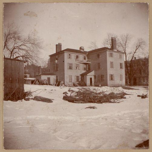 Boston, Bartlett house. Bartlett St. Built by Stephen Williams in the eighteenth century.