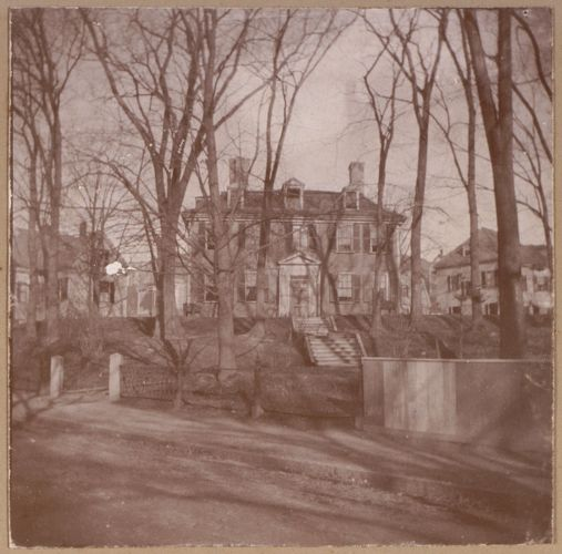 Chelsea, the Cary Mansion built before or about the middle of the eighteenth century. Part of the Governor Bellingham estates.