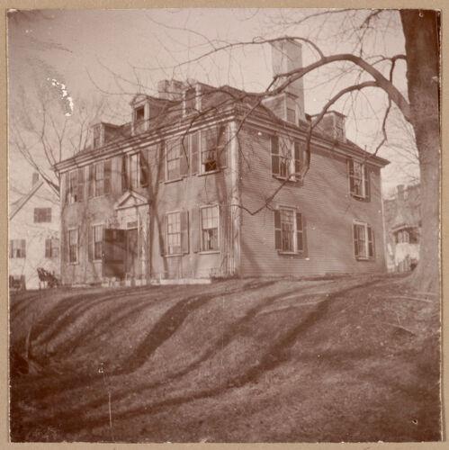 Chelsea, Gov. Bellingham mansion, 1670.