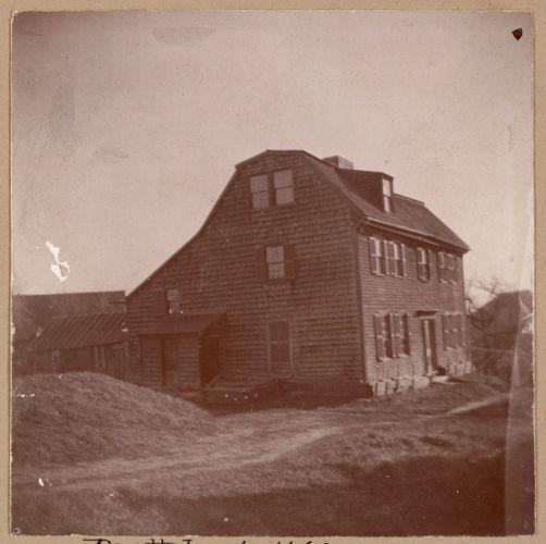 Chelsea, Pratt House, 1660.