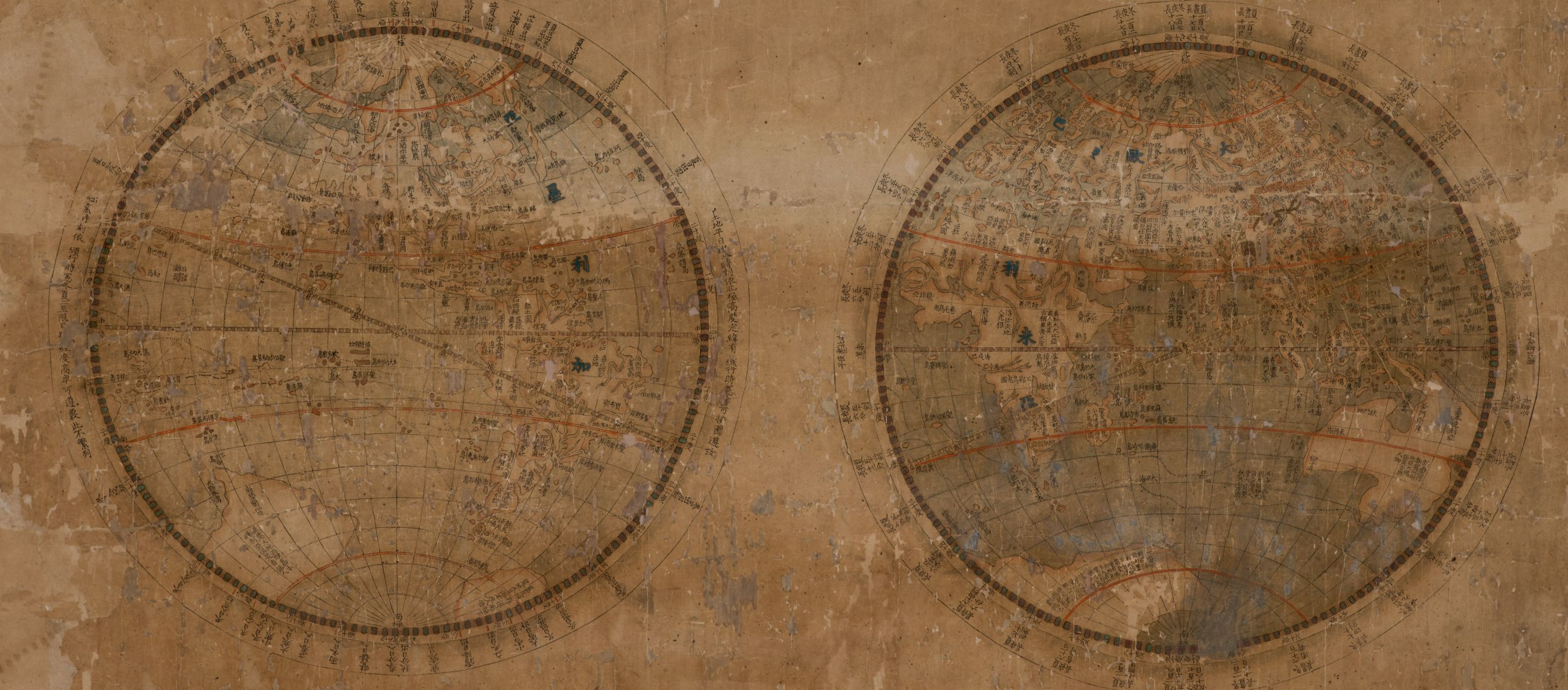 Zhuang Tingfu: Cartographic Encounters and Echoes