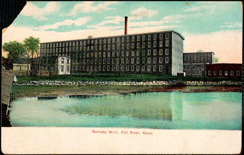 Barnaby Mills, Fall River, Mass.