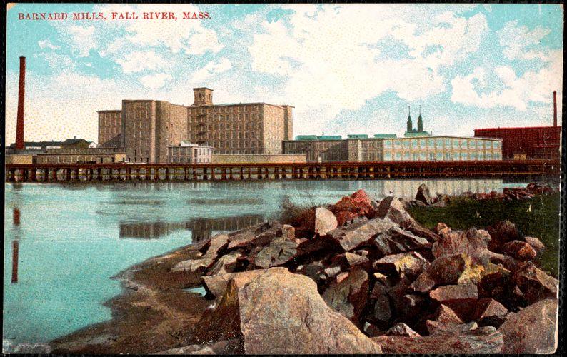 Barnard Mills, Fall River, Mass.