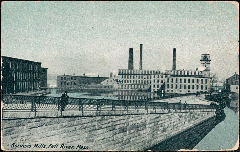 Borden's Mills, Fall River, Mass.
