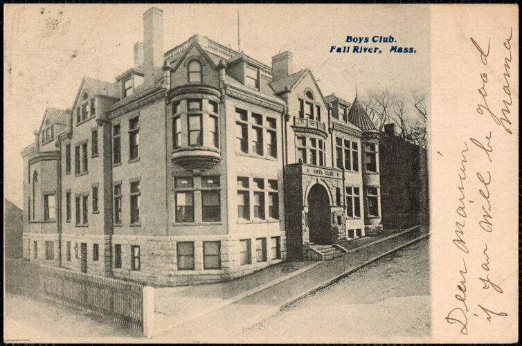 Boys Club, Fall River, Mass.