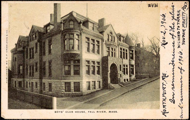 Boys' Club House, Fall River, Mass.