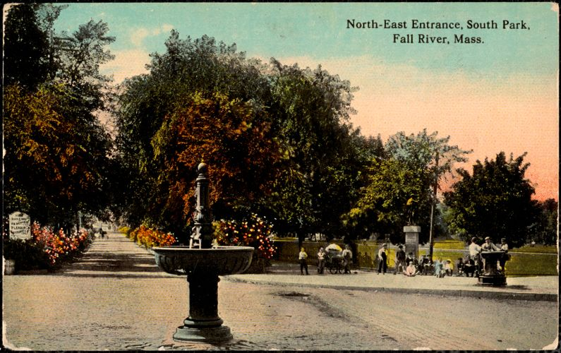 North-east entrance, South Park, Fall River, Mass.
