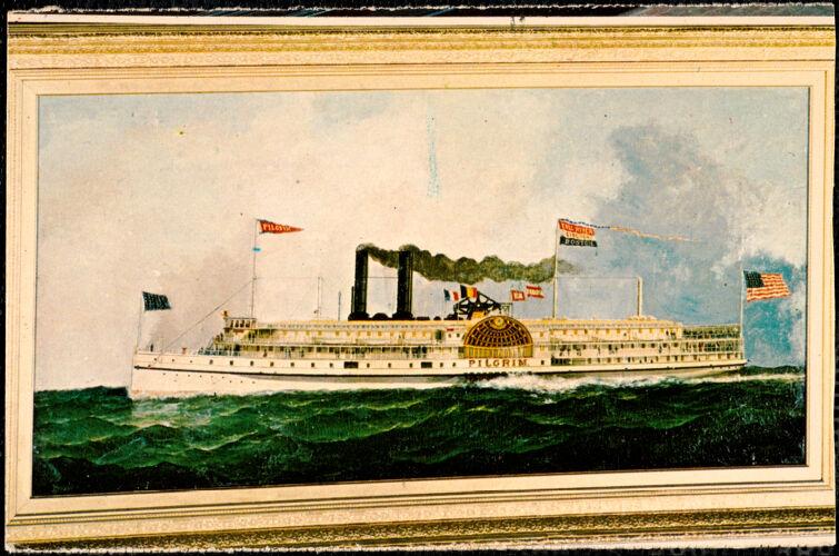 Fall River Line steamer, Pilgrim
