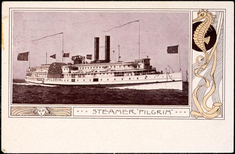 """Steamer """"Pilgrim"""""""