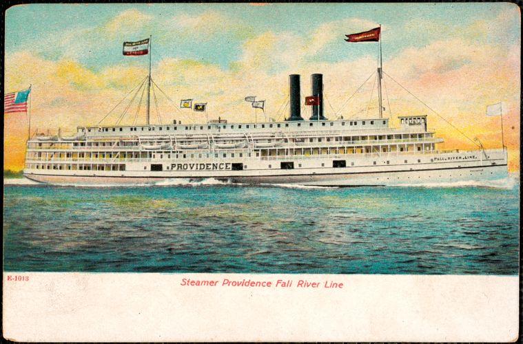 Steamer Providence, Fall River Line