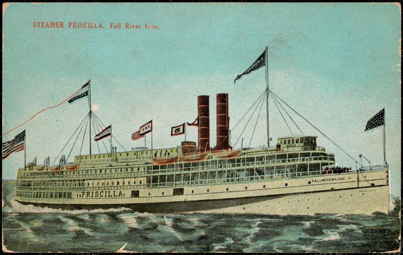 Steamer Priscilla, Fall River Line