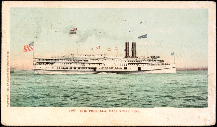 Str. Priscilla, Fall River Line