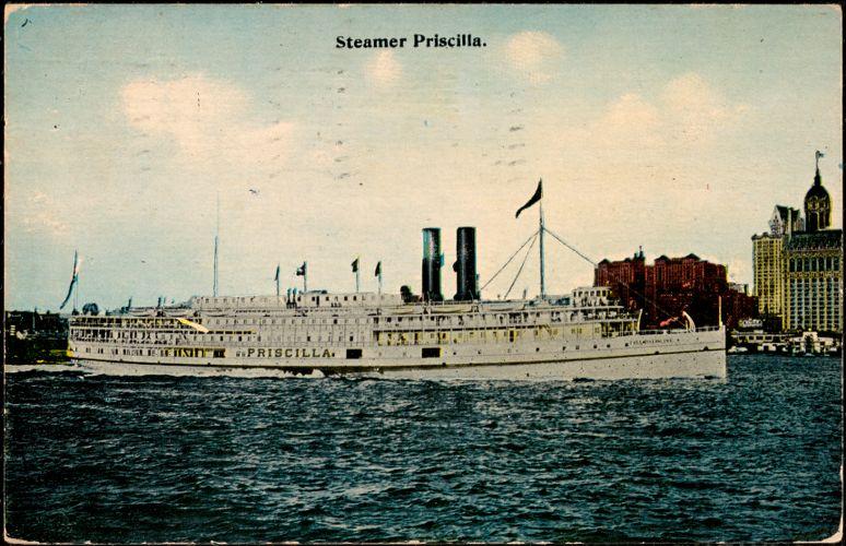 Steamer Priscilla