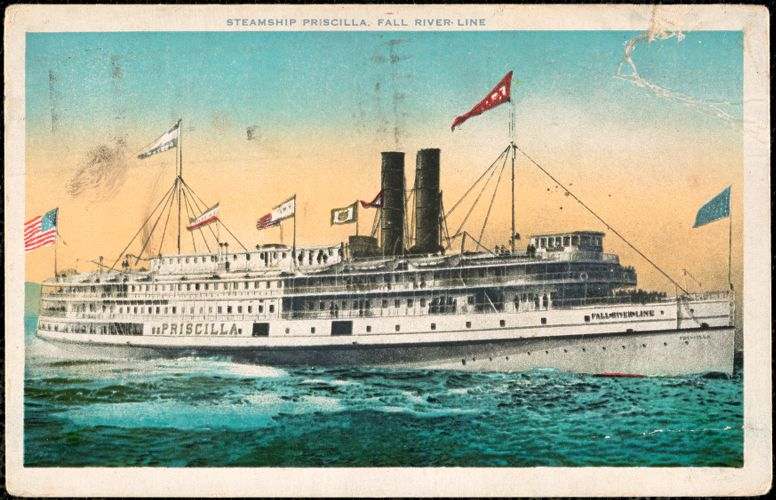 Steamship Priscilla, Fall River Line