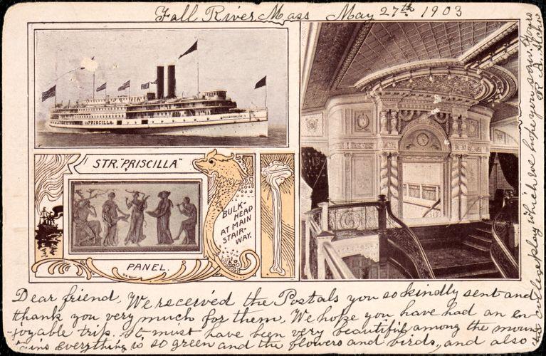Str. Priscilla, bulkhead at main stairway
