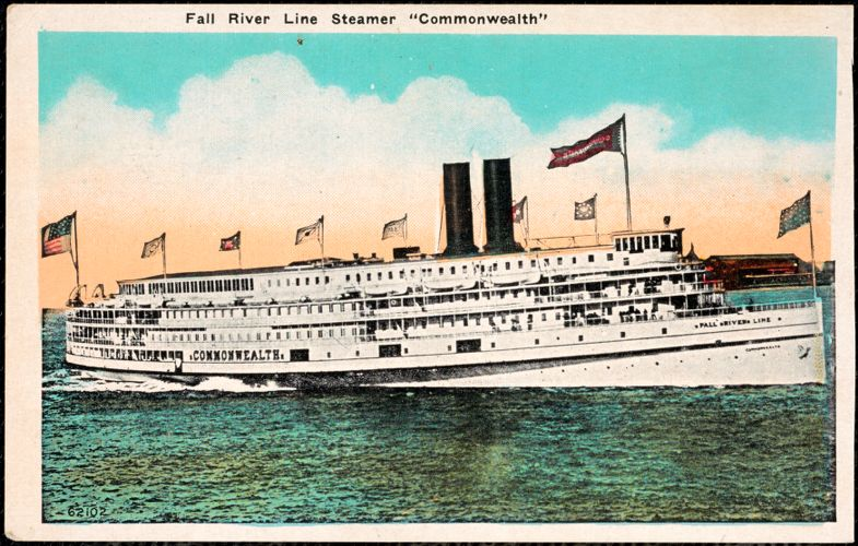 """Fall River Line Steamer """"Commonwealth"""""""