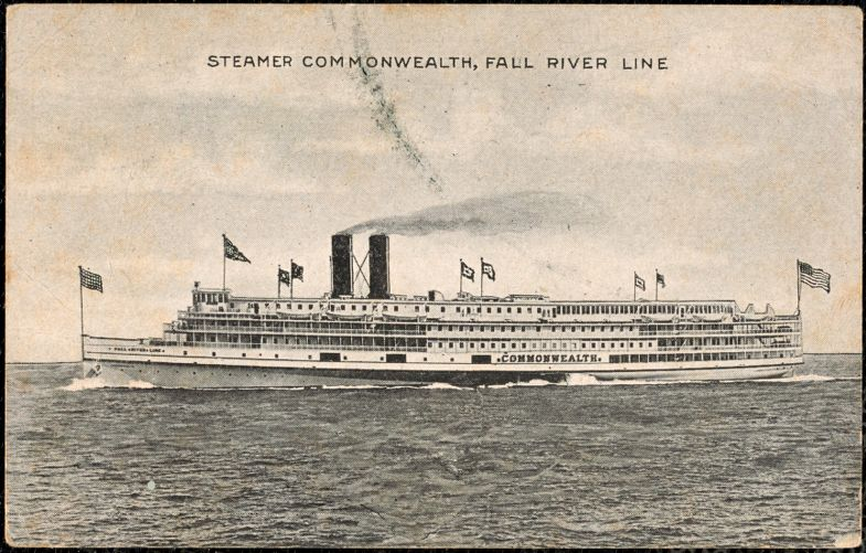 Steamer Commonwealth, Fall River Line