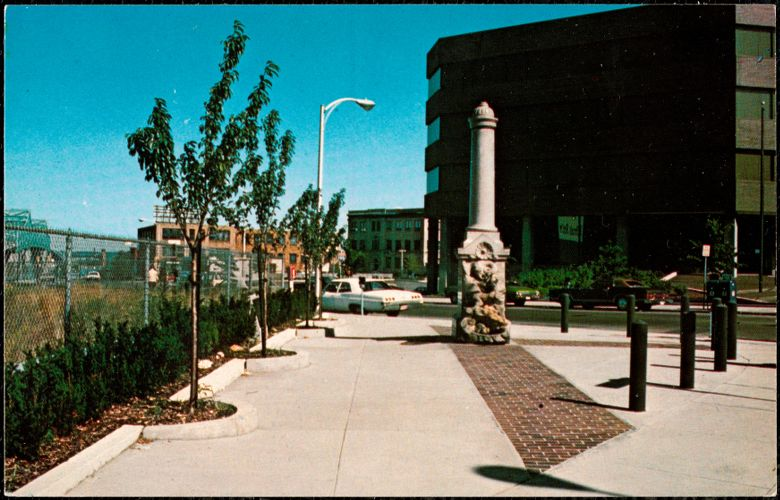 Coggeswell Fountain, Fall River, Mass.