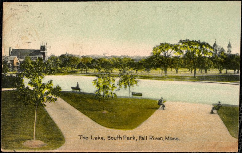 The Lake, South Park, Fall River, Mass.