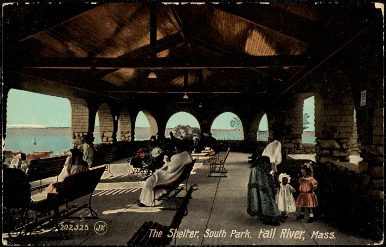 The shelter, South Park, Fall River, Mass.